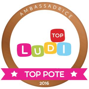 Ambassadrice Ludi top