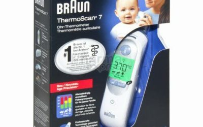 Mon super Thermomètre Braun ThermoScan 7