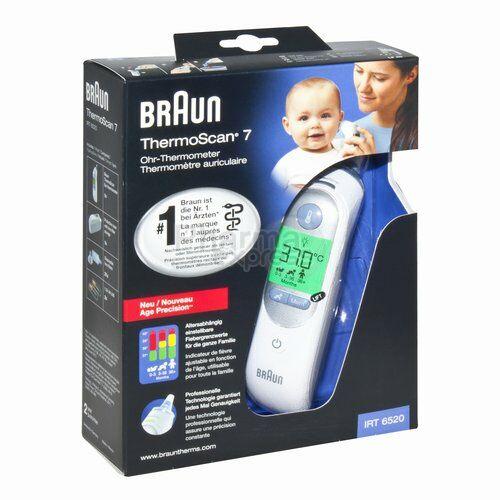 Mon super Thermomètre Braun ThermoScan 7