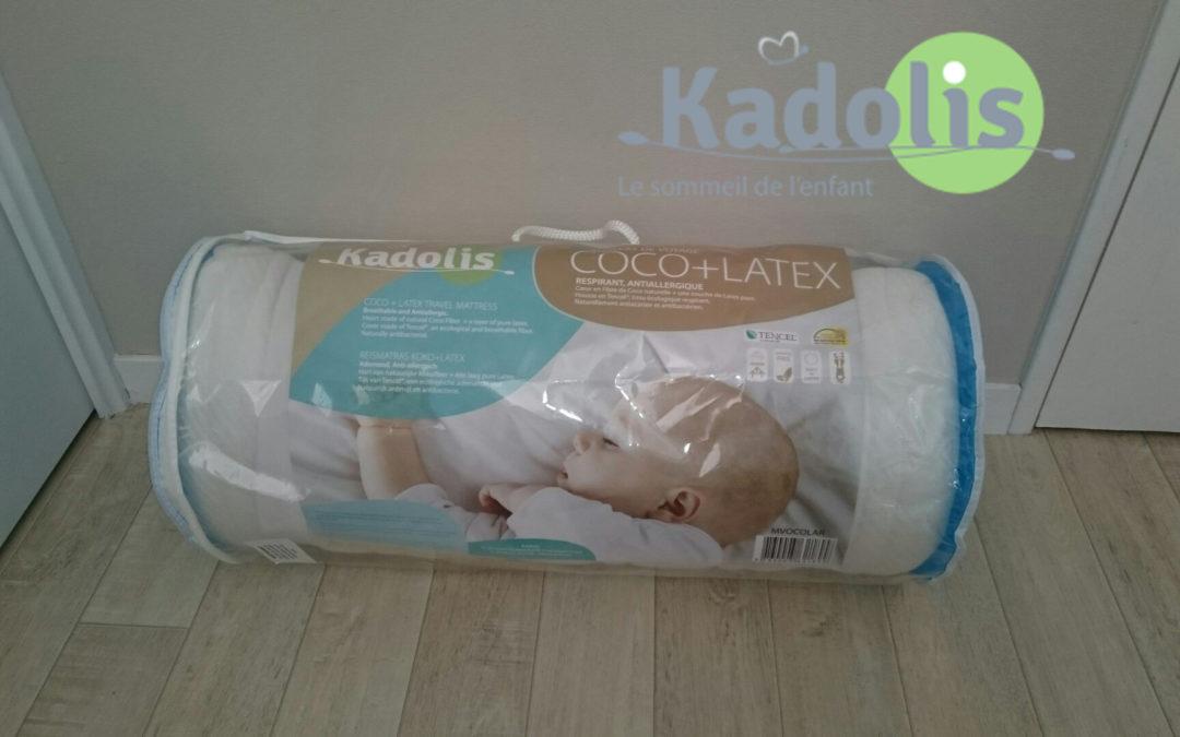 """KADOLIS """"Matelas de voyage CocO latex"""""""