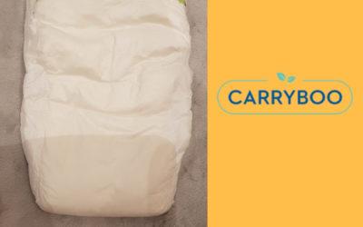 Mya à testé les couches Carryboo.