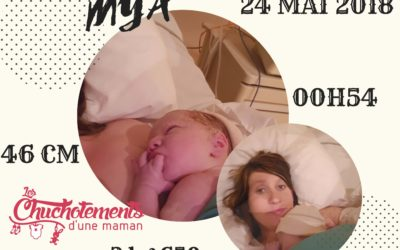 La naissance de MYA