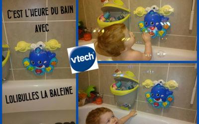 Le bain avec VTECH Lolibulles