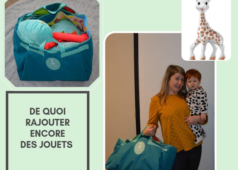"Le tapis d'éveil Muti'Mat nomade ""Sophie la girafe"""