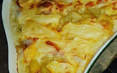 Gratin de pomme de terre façon tartiflette