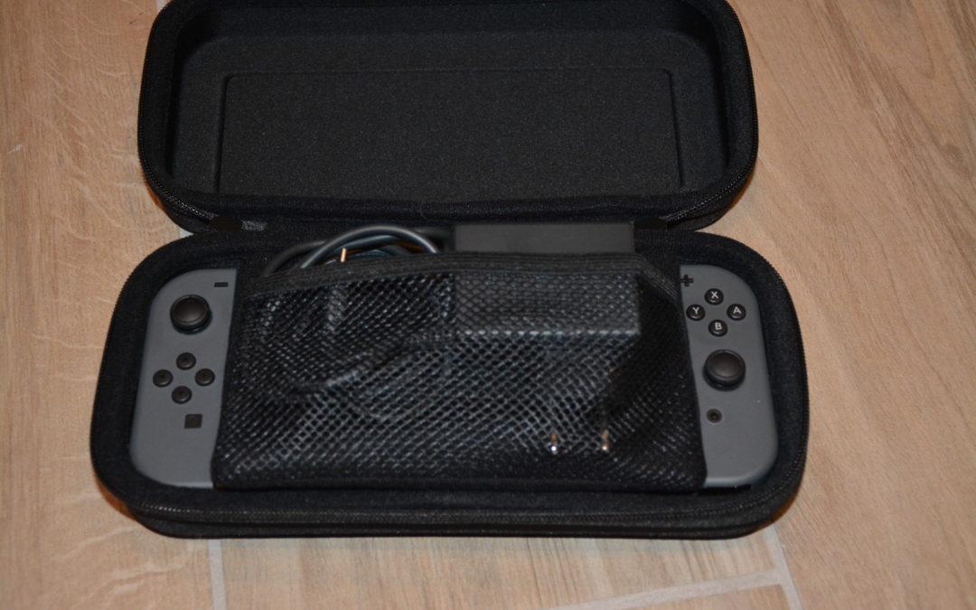 Pochette de transport rigide pour Nintendo Switch