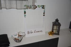 photobooth bébé d'amour
